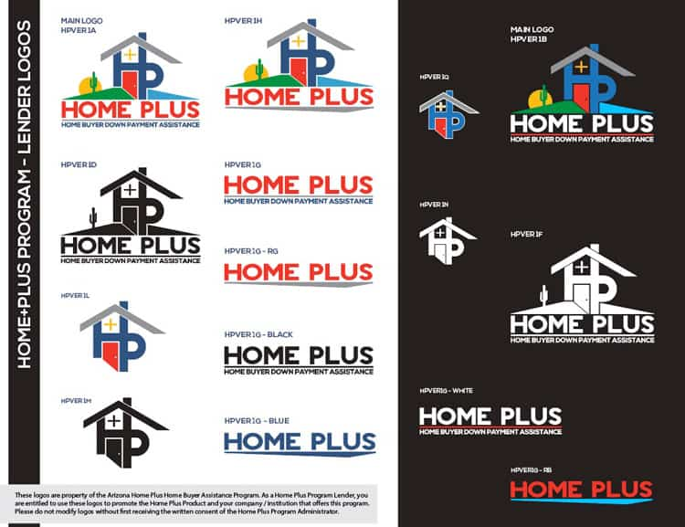 Home Plus Logos for Lenders