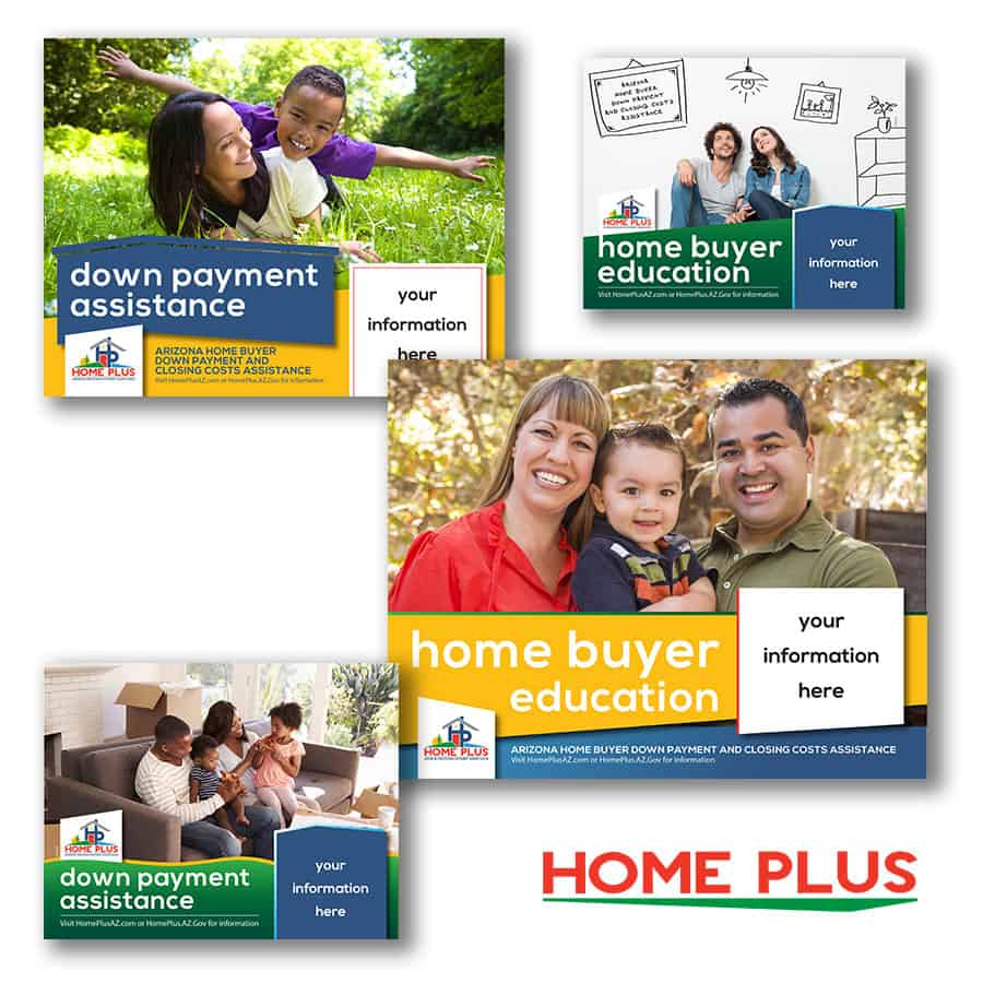 Home Plus Lender Program Marketing Sheets